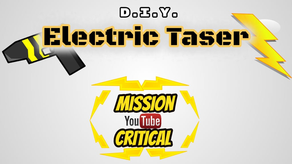 how to make an electric taser